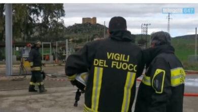 Photo of Stazione di servizio a rischio esplosione, vasta perdita di gpl da uno dei serbatoi.